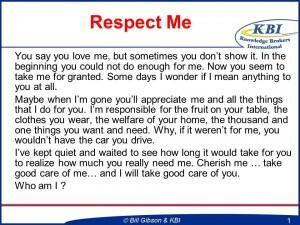 Respect Me Slide